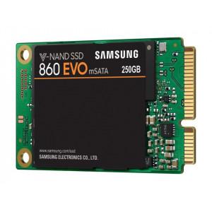 SAMSUNG 860 EVO 250GB, mSATA, SATA III - MZ-M6E250BW 250GB, mSATA, SATA III, do 550 MB/s