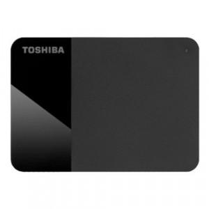 "Toshiba External Hard Drive Canvio Basics + USB-C adapter (2.5"" 2TB, USB3.2 Gen 1, Black) - HDTB420EK3ABH"