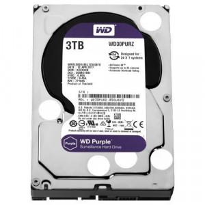 """WD 3TB SATA III, 64MB, 3.5"""", 5400rpm, Purple - WD30PURZ Interni, 3.5"""", SATA III, 3TB HDD"""