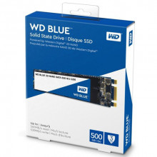 WD SSD Blue 500GB, M.2 2280, SATAIII - WDS500G2B0B M.2 2280, SATA III, 500GB, do 560 MB/s