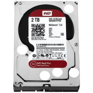 HDD Desktop WD Red Pro (3.5'', 2TB, 64MB, 7200 RPM, SATA 6 Gb/s) WD2002FFSX