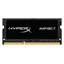 Memorija HYPERX SO-DIMM Impact 8GB DDR3L 1866MHz CL11 - HX318LS11IB/8 SO-DIMM DDR3L, 8GB, 1866Mhz, 1.35V