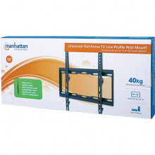 """MH Universal TV Low-Profile Wall Mount, 32-55"""", 40kg, Black"""