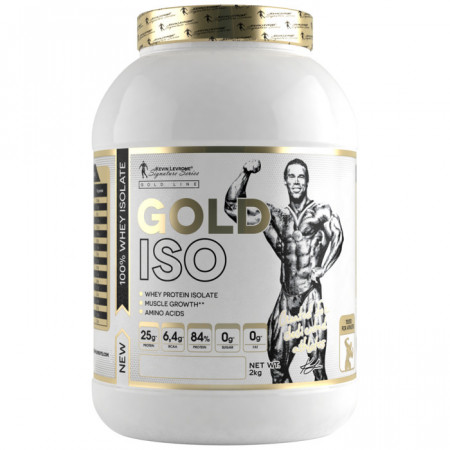 Proteina din zer Gold Iso Whey 2kg Kevin Levrone