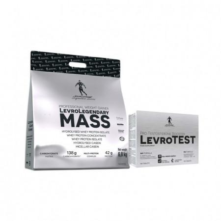 LevroLegendary MASS + LevroTest Kevin Levrone