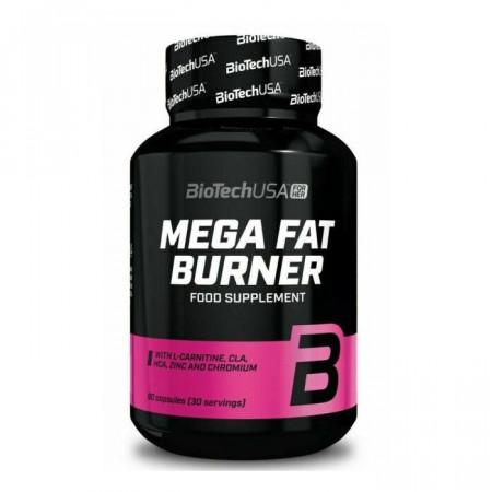Mega Fat Burner 90 capsule Biotech USA