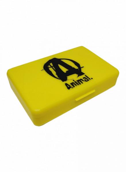Animal Logo Pill Cases Yellow