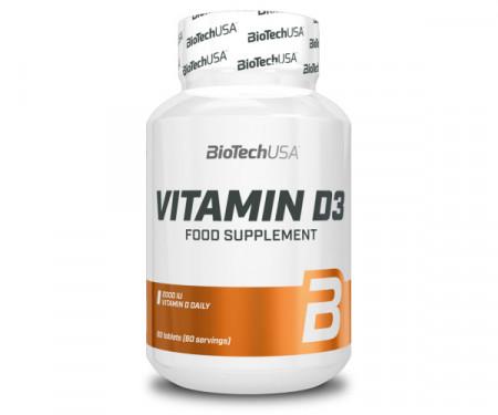 Vitamin D3 Biotech Usa 60 capsule (2000 UI)