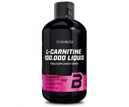 Arzătoare de grăsimi L-carnitina 100.000 Liquid Biotech USA 50 serviri