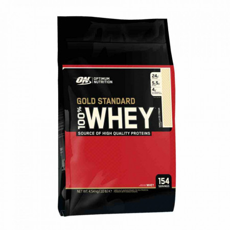 Proteine 100% Whey Gold Standard - Optimum Nutrition 4540 g