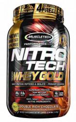 Nitro Tech 100% Whey Gold Muscle Tech