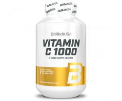 VITAMIN C 1000 BIOFLAVONOIDS BioTech USA 100 - 250 capsule
