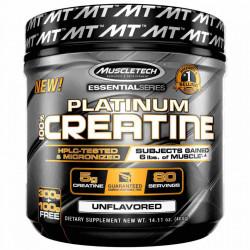 Platinum Creatine 80 SERVIRI Muscle Tech 400g