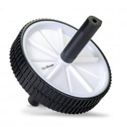 Roată pentru fitness Double Ab Wheel - GymBeam