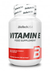 Vitamin E, 100 caps Biotech USA