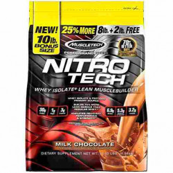 Proteine Nitro Tech Muscletech 4500 g