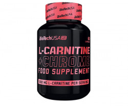 L-CARNITINE + CHROME (FOR HER) Biotech USA
