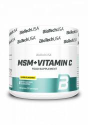 MSM Plus 1500 vitamin C Biotech USA