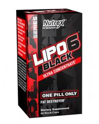 Nutrex Lipo 6 Black Ultra Concentrate 60 capsule