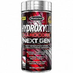 Hydroxycut Hardcore Next Gen Muscletech 100 capsule