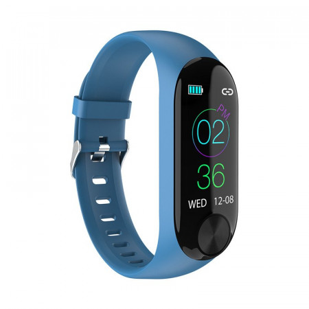 Bratara Smart Y10 Albastru