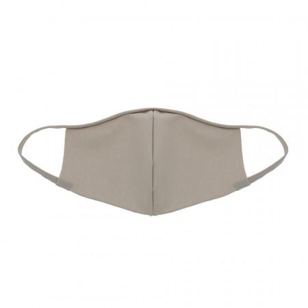Masca Fashion Reutilizabila pentru fata, fara pliuri, fabricat in Romania, Bej