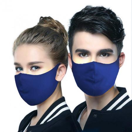 Set 5 buc Masca protectie pentru fata Fashion, Culoare Blue
