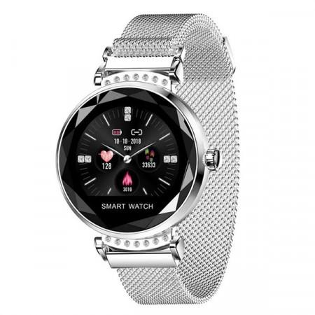 Smart Watch Pentru Femei H2-Silver