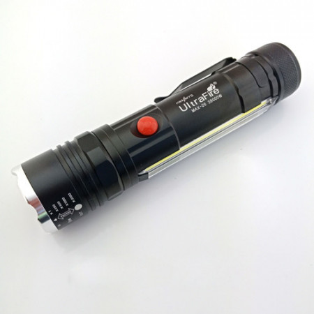 Lanterna LED T6-26, reincarcabila cu zoom si usb