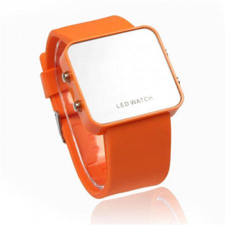 Ceas LED M008-V9-Orange