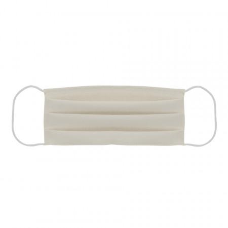 Acoperitor Facial Crem cu elastic si 3 pliuri, Reutilizabil, fabricat in Romania