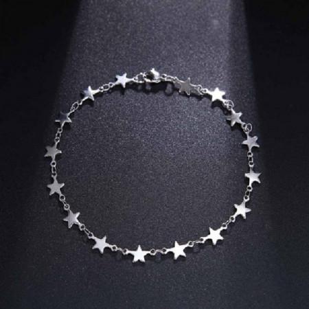 Bratara dama, stars - argintiu BR320-V1
