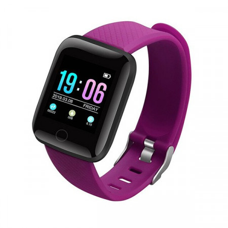 D13-PURPLE - Smart Watch Sport Fitness Tracker