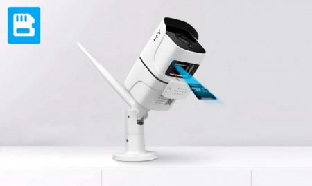 Cameră Wi-Fi în aer liber FHD 1080P, Camere de supraveghere wireless H + Y 2.4G WiFi, Camere IP de vizionare nocturnă HD, Camere de securitate pentru detectarea mișcării
