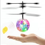 Aeronava - Minge Zburatoare - Magic Ball, Terra Connect, Disco, Multicolor, cu Acumulator