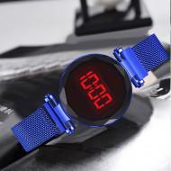 Ceas Dama Fashion Digital Led, Albastru Q521-V2