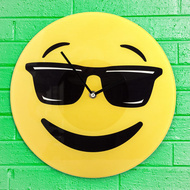 Ceas de perete Emoticon Cool