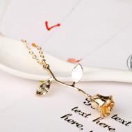Lantisor Dama Trandafir - auriu COL151-V2