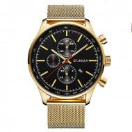 Ceas pentru barbati CR8227-Auriu-Negru