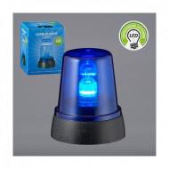 Lampa albastra cu LED - 11 cm