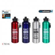 Sticlă de apă din aluminiu sport 750 ml, PMBY010102722803
