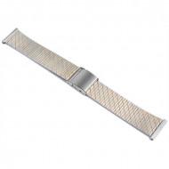 Curea de ceas din otel inoxidabil, 18mm