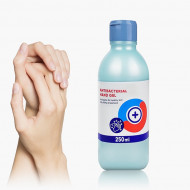 Gel De Maini Dezifectant 70% Antibacterian 250 ml