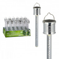 Lampa solara LED pentru gradina 18 cm - 1 buc