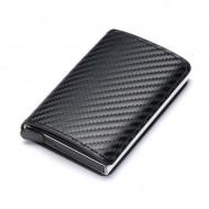 Portofel Print Carbon pentru carduri, Negru, PTL032-V1