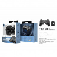6In1 2.4G Wireless Single Player Gamepad, negru, PMTF620043