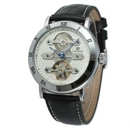 Ceas Barbatesc Automatic Tourbillon Forsing FOR1002-ARGINTIU