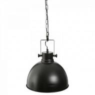 Lustra suspendata metalica, negru, PM1616093