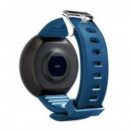 Bratara Fitness Smartband D18 Waterproof IP65, Incarcare USB, Bluetooth 4.0, Display Touch Color OLED, Albastru