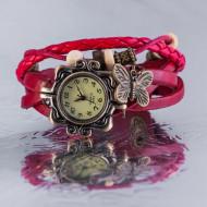 Ceas De Mana Vintage Dama Rosu V152